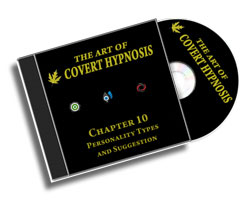 The Art Of Covert Hypnosis CD10