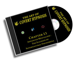 The Art Of Covert Hypnosis CD13